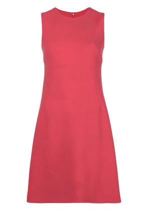 Dolce & Gabbana tailored shift mini dress - Pink