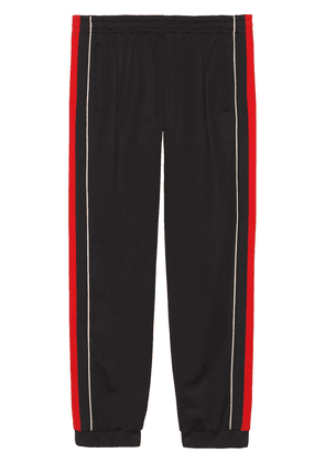Gucci Jogging pant with lyre patch - Black