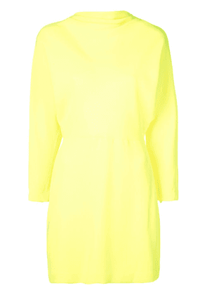 A.L.C. fitted evening mini dress - Yellow