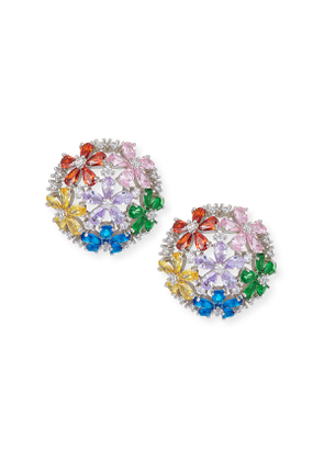 Florette Half-Button Earrings