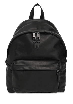 24l Padded Pak'r Leather Backpack