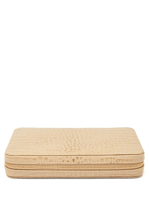 Aerin - Enzo Leather Travel Domino Set - Gold
