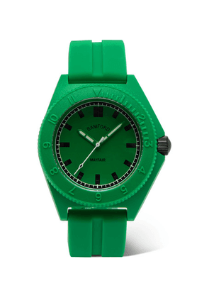 Bamford Watch Department - Mayfair Sport Polymer And Rubber Watch - Green