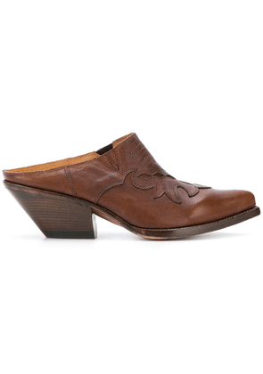 Buttero Elise mules - Brown