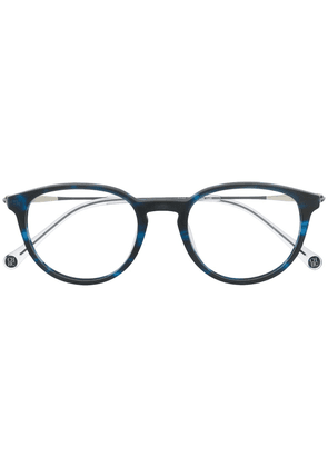 Ch Carolina Herrera oval frame glasses - Blue