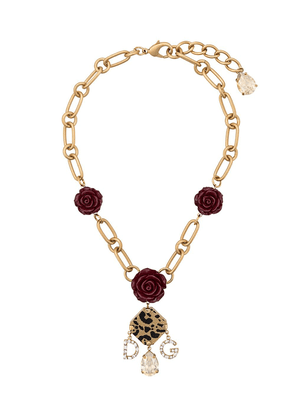 Dolce & Gabbana decorative element necklace - Gold