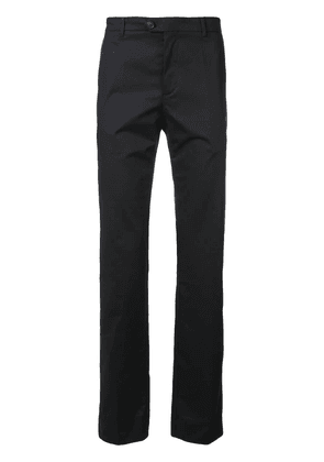 Gieves & Hawkes slim-fit tailored trousers - Blue