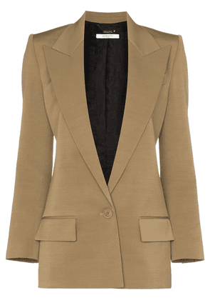 Givenchy long-line single-breasted blazer - Neutrals