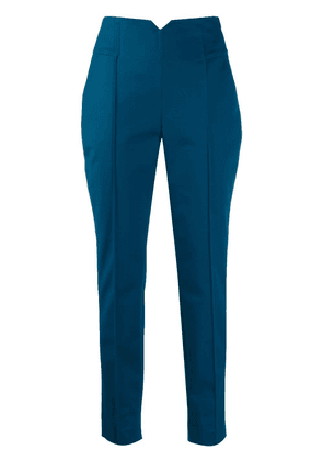 Dorothee Schumacher classic tailored trousers - Blue