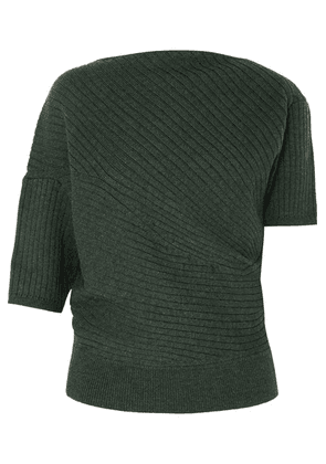 JW Anderson - Infinity Ribbed Merino Wool Sweater - Emerald