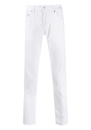 Dondup Newside carrot-fit jeans - White