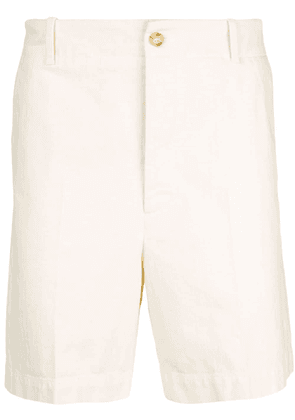 Gucci embroidered chino shorts - White