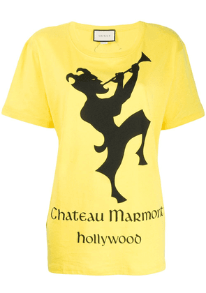 Gucci Chateau Marmont T-shirt - Yellow
