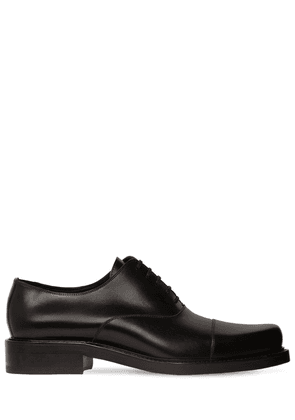Derby Leather Lace-up Shoes