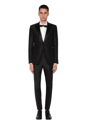London Silk Satin & Wool Tuxedo