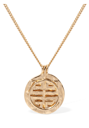 4g Gold Logo Necklace