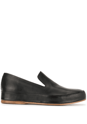 Feit round toe loafers - Black