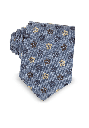 Floral Woven Silk Ties
