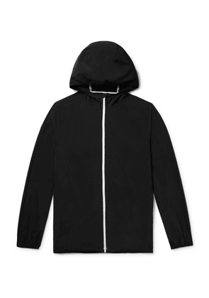 Theory - Hector Nylon-blend Shell Hooded Jacket - Black