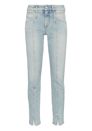 Givenchy visible seam straight-leg jeans - Blue
