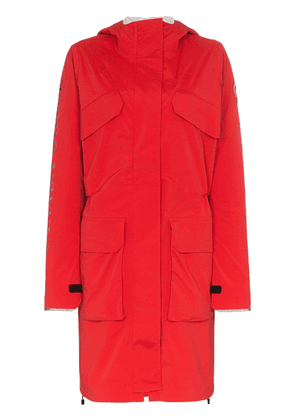 Canada Goose Seaboard reflective panel hooded coat - Red