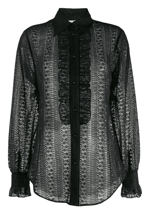 Gucci lace shirt - Black