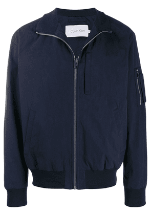 Calvin Klein relaxed fit bomber jacket - Blue