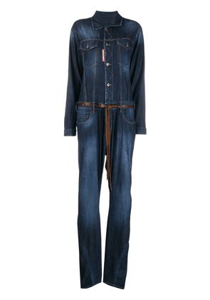 Dsquared2 denim jumpsuit - Blue
