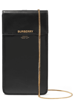 Burberry - Leather Pouch - Black