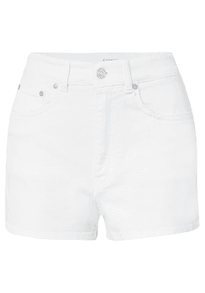 Givenchy - Distressed Denim Shorts - White