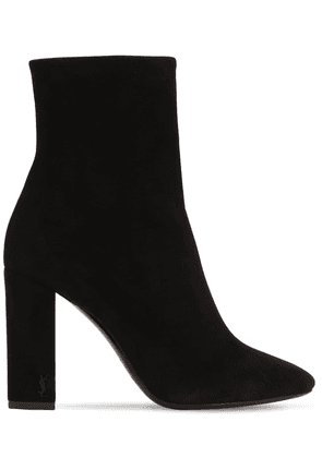 95mm Lou Suede Ankle Boots