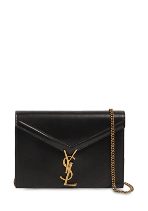 Cassandra Leather Chain Wallet Bag