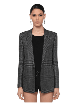 Techno Hounds Tooth Blazer
