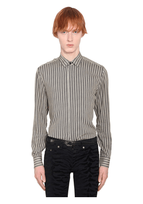 Striped Viscose Shirt