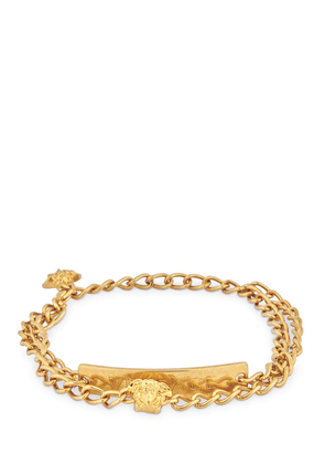 V-insignia Double Anklet