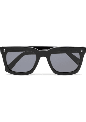 Cubitts - Judd Square-frame Acetate Sunglasses - Black