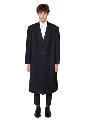 Oversize Double Face Wool Coat