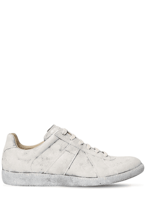 Replica Leather Low Top Sneakers
