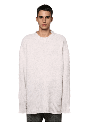 Casentino Oversized Crewneck Sweater