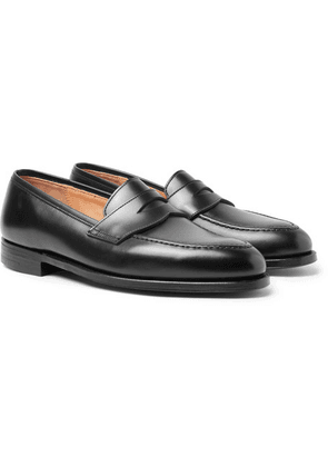 George Cleverley - Bradley Leather Penny Loafers - Black