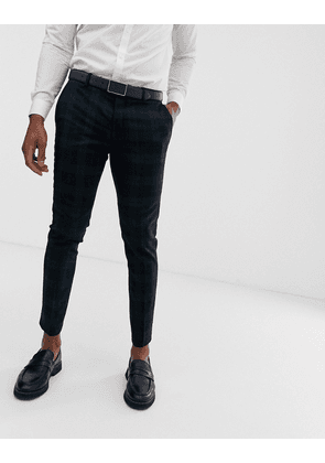 River Island smart trousers in green check