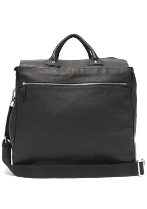Connolly - Sea 1985 Large Grained Leather Bag - Mens - Black