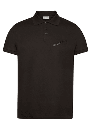 Saint Laurent Cotton Polo T-Shirt
