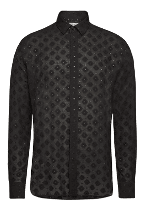 Saint Laurent Shirt with Wool and Silk