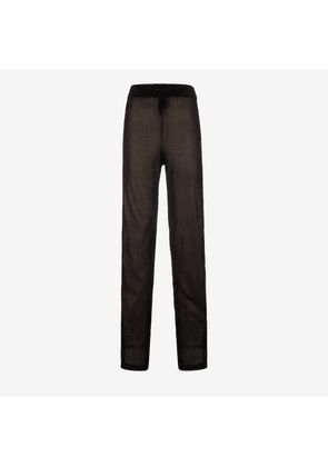 Viscose Knitted Trousers Black 42