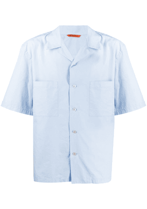 Barena short-sleeve fitted shirt - Blue