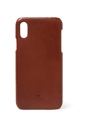 Il Bussetto - Leather Iphone X Case - Tan