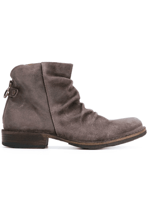 Fiorentini + Baker ruched ankle boots - Brown