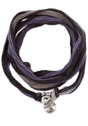 Catherine Michiels Fabric necklace - Metallic