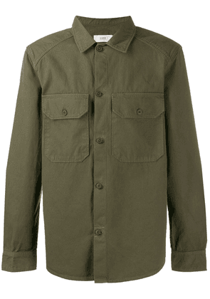 Closed casual shirt - Green